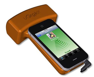 Smartphone RFID finder device