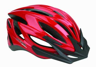 Vigor bicycle helmet design