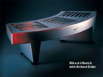 Nike AirBench furniture design